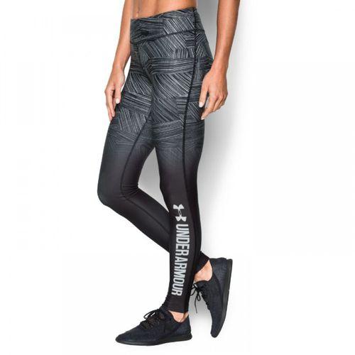 Under Armour Spodnie termoaktywne legginsy damskie ColdGear Sublimated Cozy grafitowe r. XS