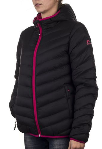 ELBRUS Kurtka damska Ainsa Black/Rose Red r. XL