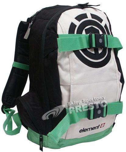 Element Skateboards Plecak na deskorolkę Mohave Element czarno-zielony uniw - 2000091015927