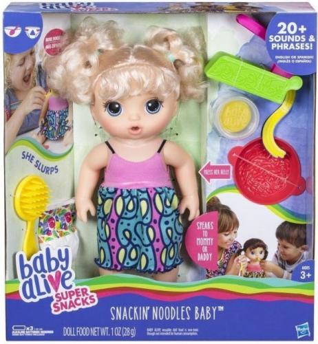Hasbro Baby Alive Lala uwielbiająca kluski  (GXP-610013)