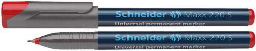 Schneider Foliopis Maxx 220S, czerwony (SR112402)
