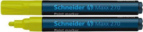 Schneider Marker Olejowy Maxx 270, żółty (SR127005)