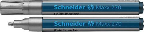 Schneider Marker Olejowy Maxx 270, srebrny (SR127054)