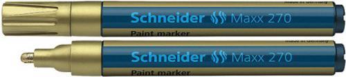 Schneider Marker Olejowy Maxx 270, złoty (SR127053)