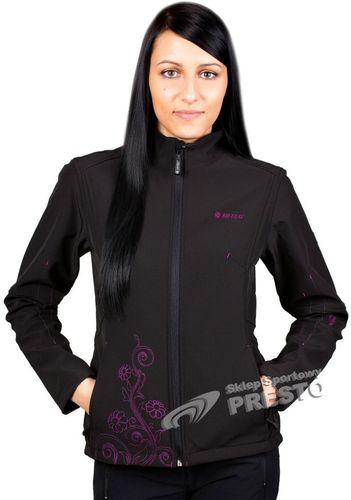 Hi-tec Kurtka damska Lady Patty 8.000 czarno-fuksjowa r. XL
