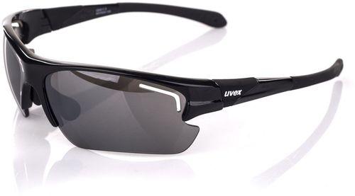 UVEX Okulary sportowe z wymiennymi szybami Sportstyle 106 Uvex Black uniw - 4043197237206