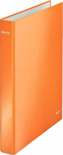 Segregator Leitz 4-ringowy A4 25mm pomarańczowy (42420044)