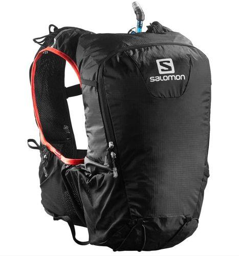 Salomon Plecak do biegania Skin Pro 15 Set + bukłak 1,5L Salomon Black/Bright Red uniw - 379962