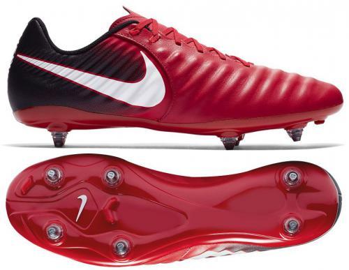 Nike Buty piłkarskie Tiempo Ligera IV SG czerwone r. 44.5 (897745-616)