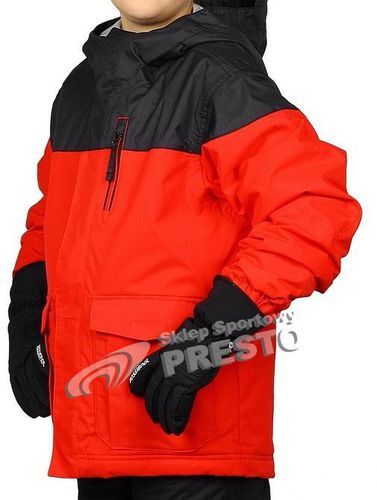 Rossignol Kurtka narciarska dziecięca Boy Angry 5.000 czerwono-czarny r. 128