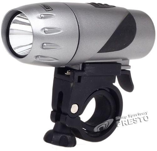 MacTronic Lampa rowerowa przednia DIF-1W MacTronic srebrny uniw - 2000010176304
