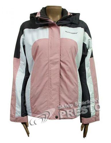Outhorn Kurtka narciarska damska Tess różowo czarno biała r. S