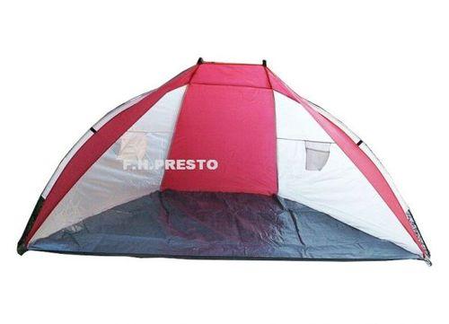 Outhorn Namiot Plażowy Outhorn czerwono-biały uniw - 2000091022191