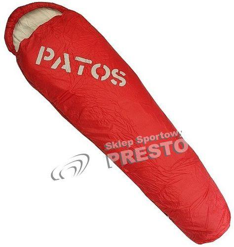 Outhorn Śpiwór typu mumia Patos Outhorn czerwono-szary uniw - 2000091018398