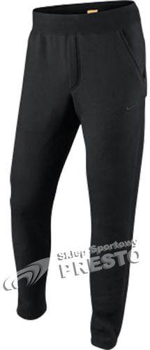 Nike Spodnie męskie Squad Slim Fleece czarne r. S