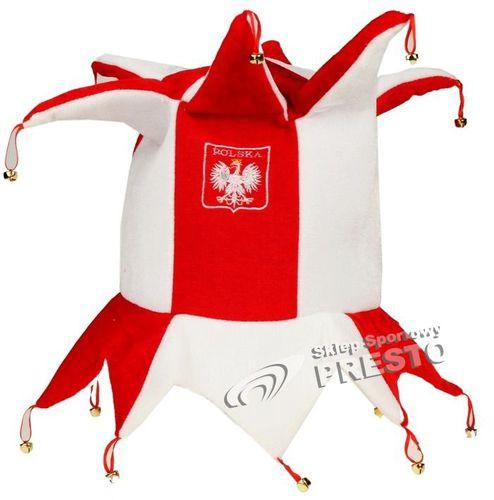 Arpex Czapka kibica z rogami Biało-Czerwoni Polska  uniw - 2000010745029