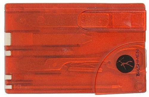 Bushmen Przybornik podróżny Travel Card Bushmen czerwony uniw - 2000011111649