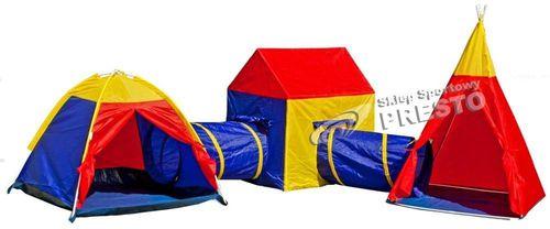 Gemio Namiot zabawowy dla dzieci labirynt 5w1