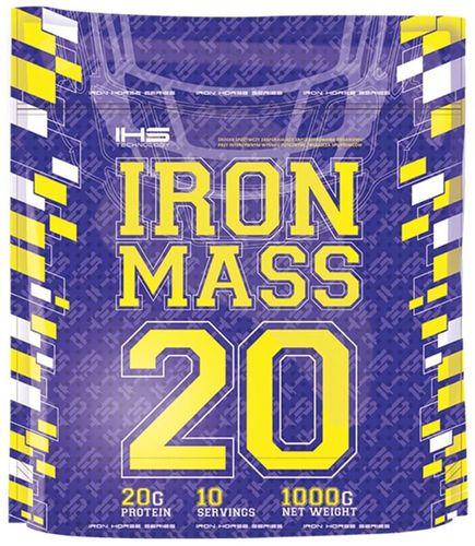 HiTec Nutrition Gainer Iron Mass 20 1000g kokos Iron Horse kokos uniw - 5901703240883