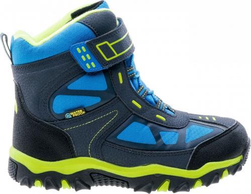 Elbrus Buty Dziecięce Lariti Mid WP Jr Navy/Blue/Lime r. 33 (4230)