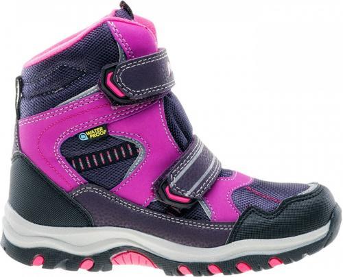 Elbrus Buty Dziecięce Tamiko Mid WP Jr Dark Violet/Light Violet/Fuchsia r. 35 (4214)
