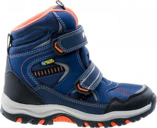 Elbrus Buty Dziecięce Tamiko Mid WP Jr Dark Navy/Navy/Orange r. 34 (4214)