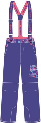 Iguana Spodnie ocieplane dziecięce  NOLANI JRG Liberty/ Camellia Rose/ Triangles Violet Print r. 164