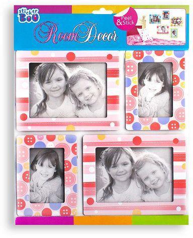 Ramka Sticker BOO Dekoracje ścienne Ramki różowe (FRA 1113)