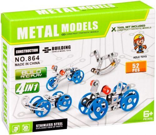 MEGA CREATIVE Klocki konstrukcyjne Metalowe (864)