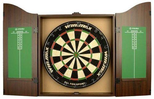 WinMax Tarcza do dart sizalowa z gablotką Cabinet Kings Head Win.Max  uniw - 5900724246119