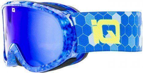 IQ Gogle narciarskie Tignes Junior niebieskie r. uniwersalny