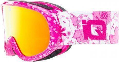 IQ Gogle narciarskie Tignes Junior różowe r. uniwersalny
