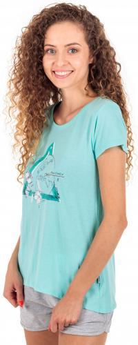 Elbrus Damski T-shirt  SUMMIT WO'S TANAGER TURQUOISE MELANGE r. L (92800186881)