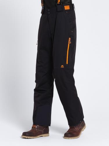 Elbrus Spodnie męskie Olaf Black Onyx/ Hawaiian Sunset r. L