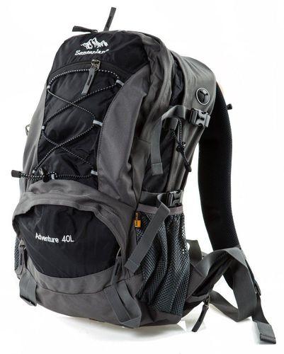 Senterlan Plecak trekkingowy Adventure 40 Senterlan grafitowo-czarny uniw - 2000010870943