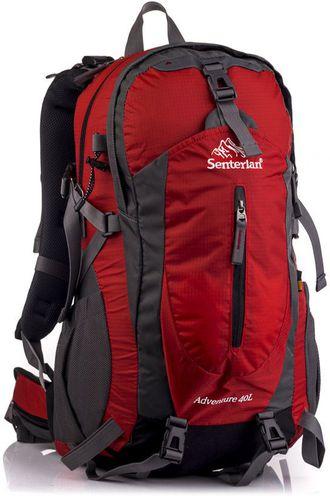 Senterlan Plecak trekkingowy Adventure II 40 Senterlan czerwono-grafitowy uniw - 2000010870974