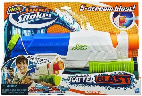 Hasbro Pistolet na wodę - Nerf, Super Soaker Scatter Blast 28498  (A5832E24)