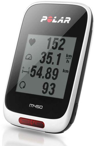 Nawigacja GPS Polar Komputer rowerowy nawigacja GPS M450 Polar  uniw - 725882023915