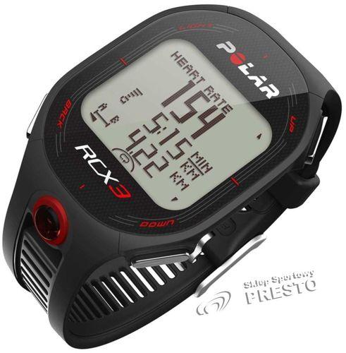 Polar Zegarek sportowy RCX3 RUN Polar czarny uniw - 725882553153