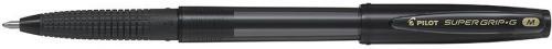Pilot Długopis ze skuwką Super Grip, czarny (PIBPS-GG-F-B)