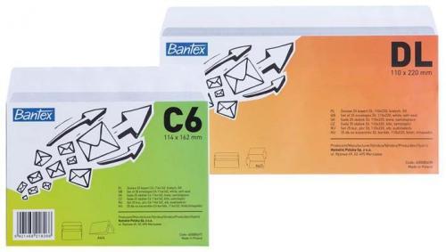 Bantex Kopera  DL  biały, 25 sztuk  (400085698)