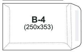 NC Koperty Kopera  B-4  brązowa, 50 sztuk (31723030/50)