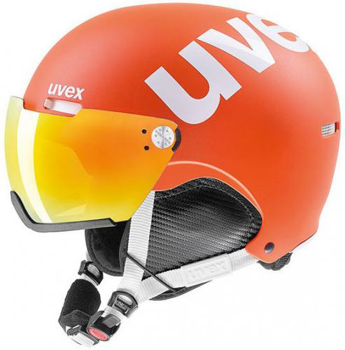 UVEX kask narciarski Hlmt 500 Visor orange mat r. 59-62 cm (5662138007)