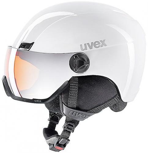 UVEX kask narciarski Hlmt 400 Visor white mat r. 58-61 cm (5662171007)