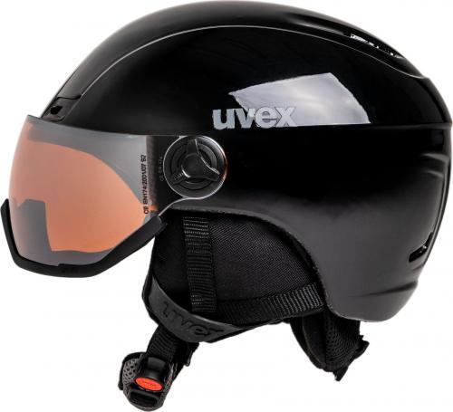 UVEX kask narciarski Hlmt 400 Visor black mat r. 53-58 cm (5662172005)