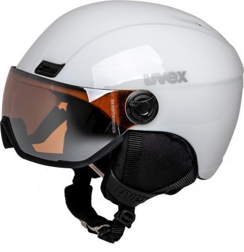 UVEX kask narciarski Hlmt 400 Visor biały r. 53-58 cm (5662171005)