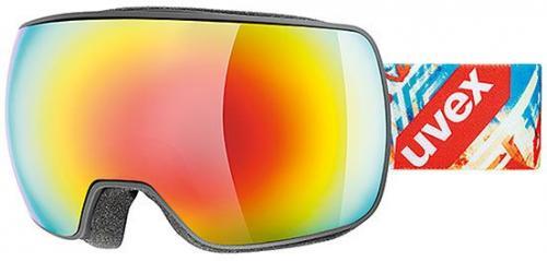 UVEX Gogle narciarskie Compact FM czarne (55/0/130/2226/UNI)