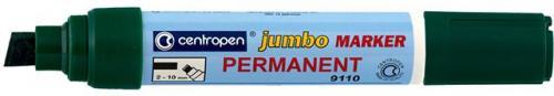 Centropen Marker Jumbo Permanentny Zielony  2.00-10.00 mm  (9110/10)