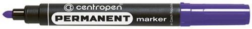 Centropen Marker Fioletowy Permanentny Okrągła Końcówka 2.5 mm (8566/05)