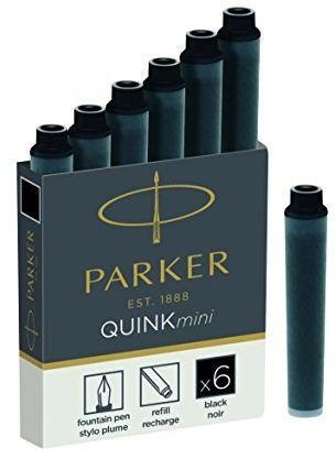 Parker Naboje do pióra czarne (1950407)